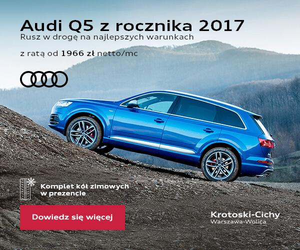 Kreacja mailingowa Audi Q5 zrocznika 2017
